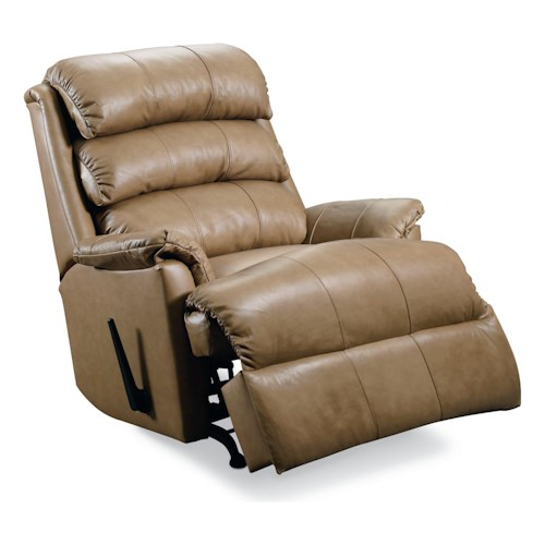 Lane Revive Quick Ship Power Rocker Recliner with Plush Pillow Arms