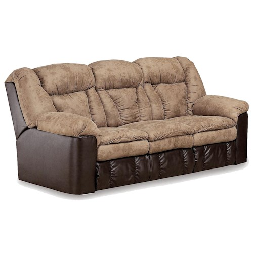 Lane Express Talon Quick Ship Double Reclining Sofa