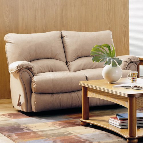 Lane Alpine Contemporary Double Rocking Reclining Loveseat