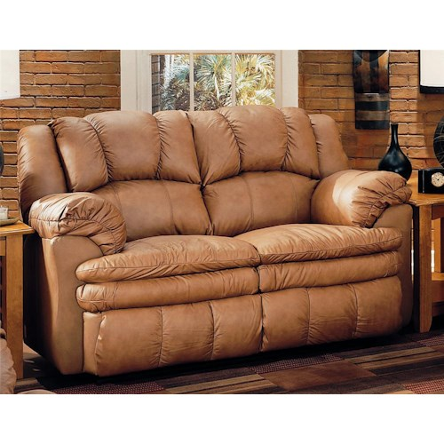 Lane Cameron Casual Double Reclining Loveseat
