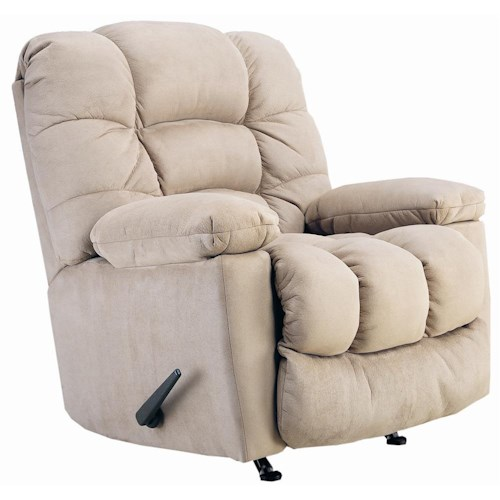 Lane Wallsaver Recliners Lucas Wallsaver Recliner with Huge, Plush Pillow Arms
