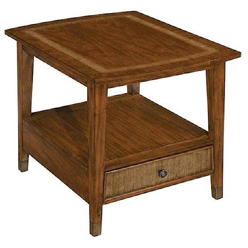 LaurelHouse Designs Connor Rectangular End Table w/ Drawer