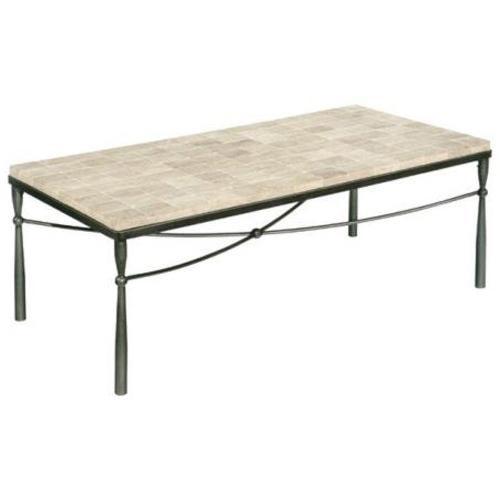 LaurelHouse Designs Kyra  Rectangular Cocktail Table With Tile Top