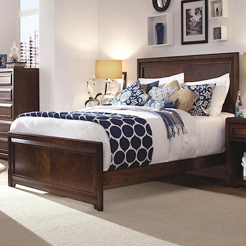 Morris Home Furnishings Roma Full Panel Headboard & Footboard Bed