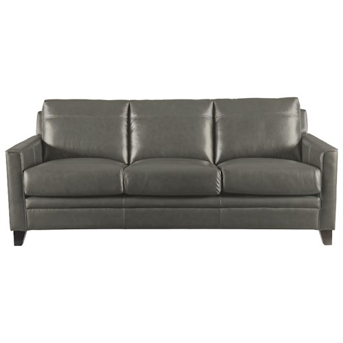 Leather Italia USA Fletcher Leather Sofa