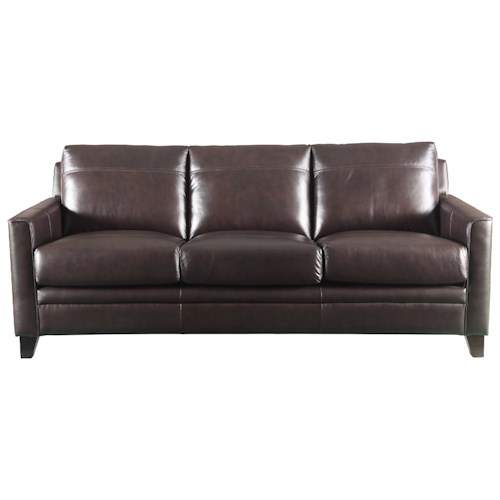 Leather Italia USA Fletcher Leather Sofa