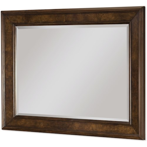 Legacy Classic Barrington Farm Landscape Mirror with Beveled Glass