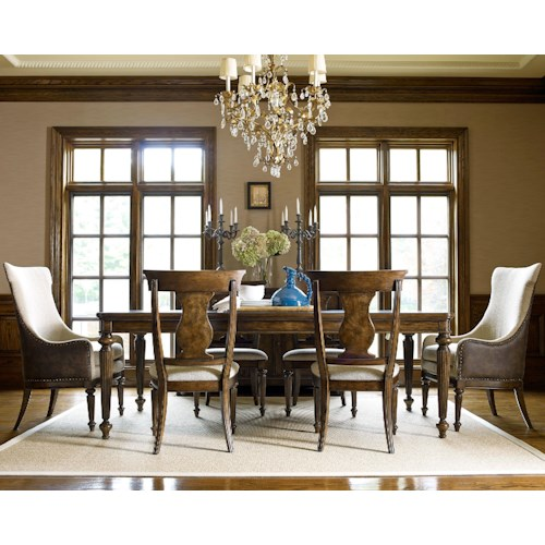 Legacy Classic Barrington Farm 7 Piece Dining Set with Host Chairs