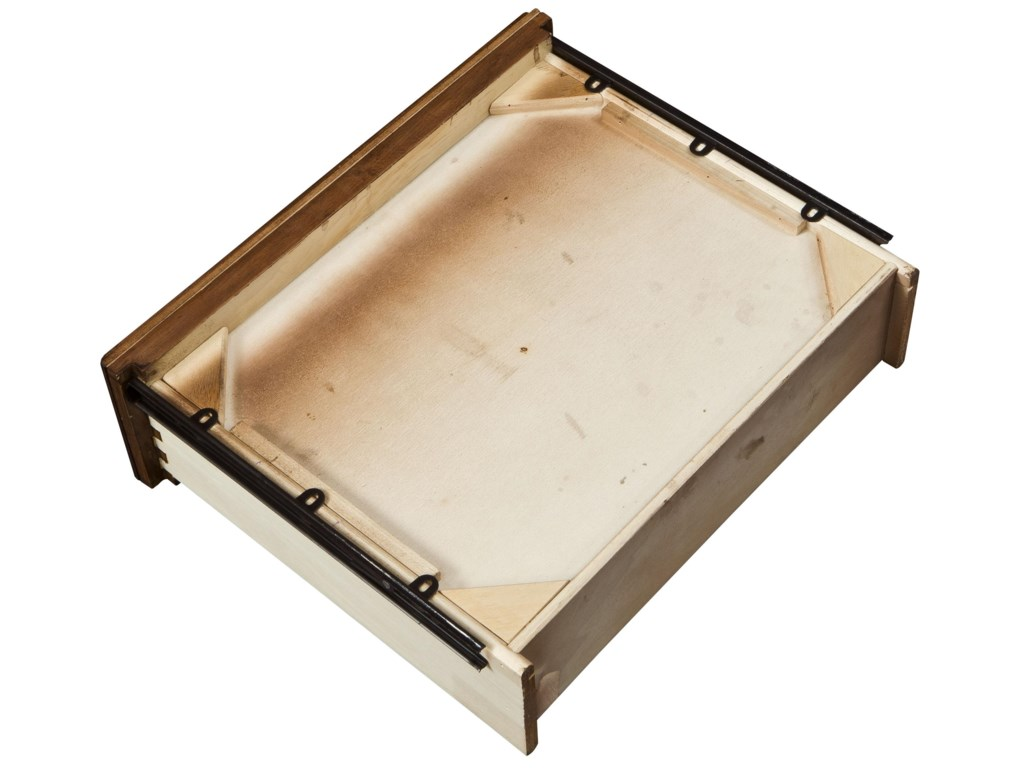 View of Metal Full Extension Drawer Guides