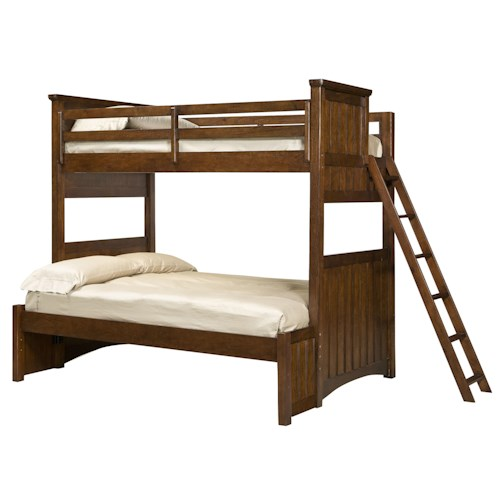 Legacy Classic Kids Dawson's Ridge Twin-over-Full Bunk with Ladder