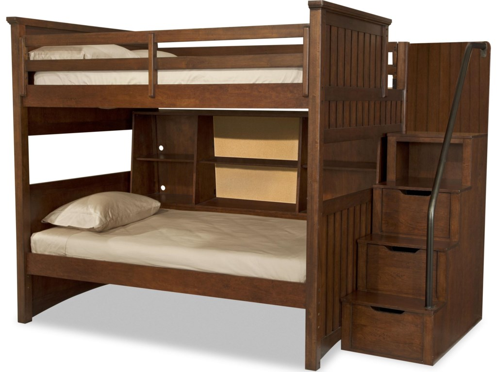 Shown with Full-over-Twin Bunk and Bunk Bookcase Unit