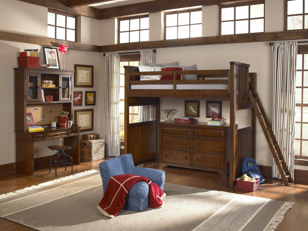 Shown with Desk & Hutch, Chair and Dresser