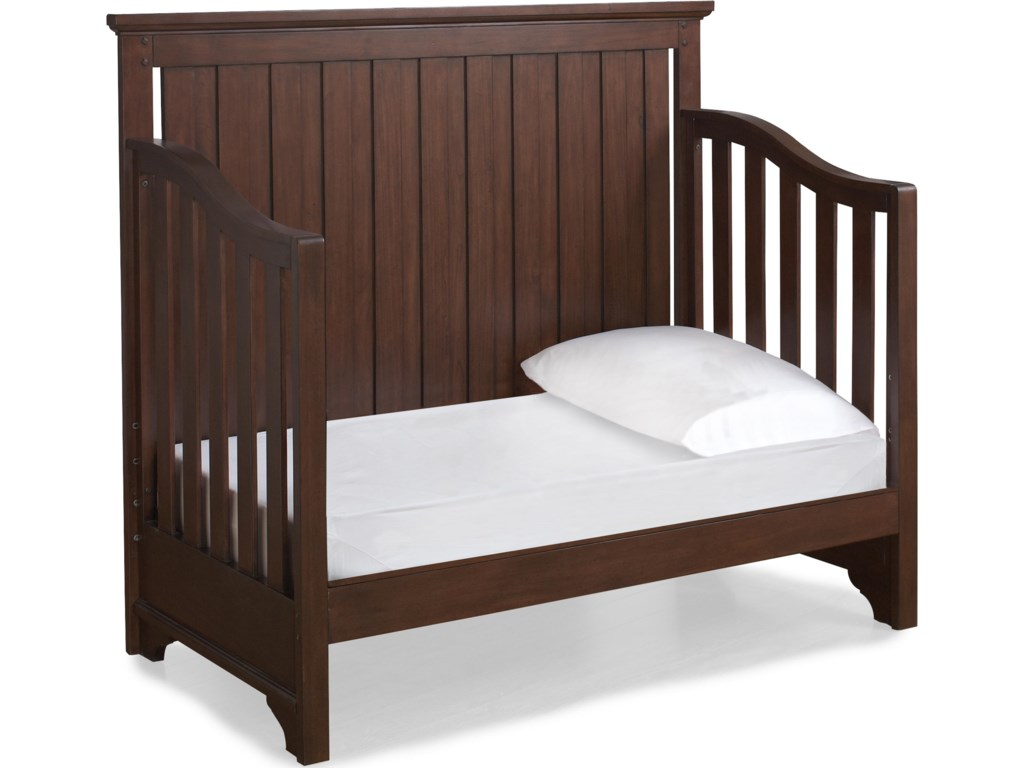 Crib Shown as Converted to Preschool Daybed