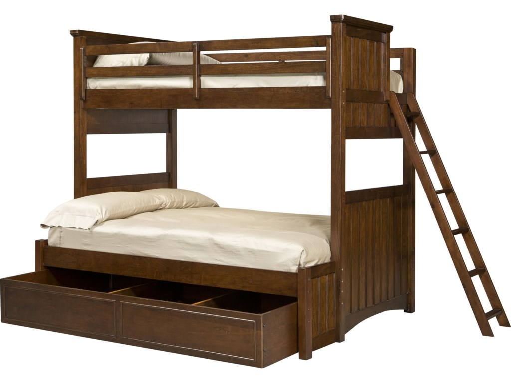 Shown with Twin-over-Full Bunk
