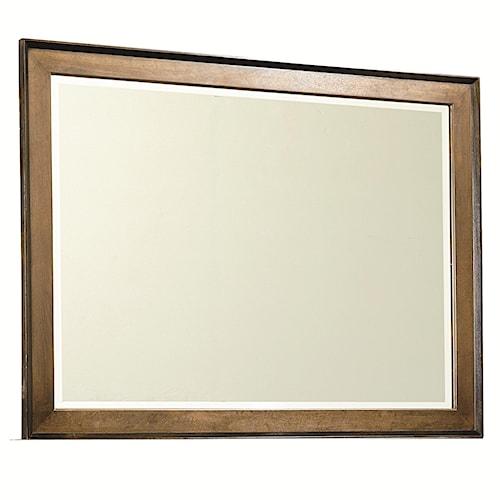 Legacy Classic Kateri Dresser Mirror in Hazelnut Finish Frame