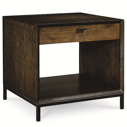 Legacy Classic Kateri End Table with Open Shelf