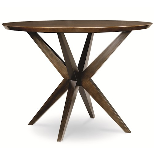 Legacy Classic Kateri Round Pub Table in Hazelnut Finish