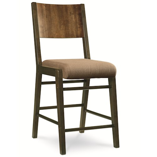 Legacy Classic Kateri Pub Chair with Upholstered Seat