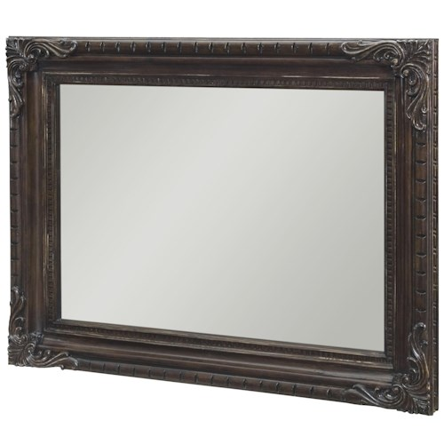 Legacy Classic La Bella Vita Landscape Mirror with Carvings