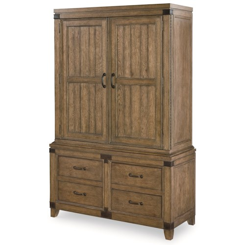 Legacy Classic Metalworks Complete Wardrobe with Dovetail Drawers