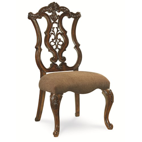 Legacy Classic Pemberleigh Pierced Back Side Chair