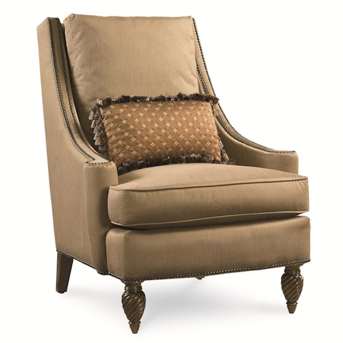 Legacy Classic Pemberleigh Accent Chair with Nailhead Trim