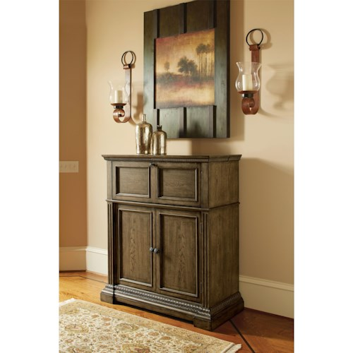 Legacy Classic Renaissance Bar Cabinet with Wine Storage Racks