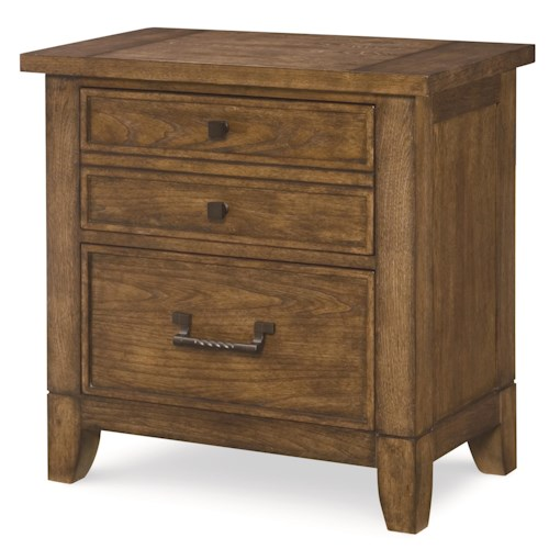 Legacy Classic River Run Night Stand with 2 Drawers