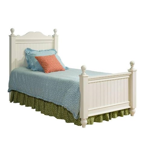 Legacy Classic Kids Summer Breeze Full Size Low Poster Bed