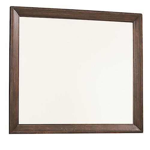 Legacy Classic Thatcher Rectangular Dresser Mirror with Wood Frame