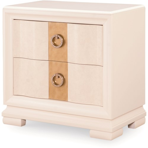 Legacy Classic Tower Suite 2 Drawer Nightstand with Outlet