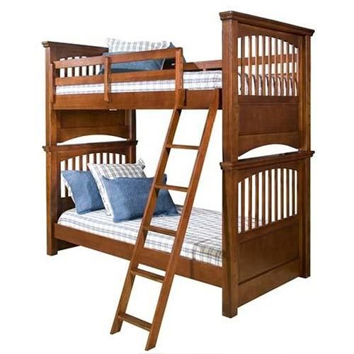 Legacy Classic Kids American Spirit Twin-Over-Twin Bunk Bed