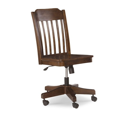 Legacy Classic Kids Big Sur by Wendy Bellissimo Slat Back Desk Chair