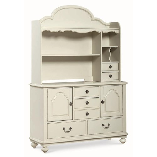 Legacy Classic Kids Inspirations by Wendy Bellissimo Changing Station Hutch and Dresser
