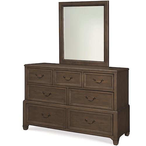 Legacy Classic Kids Kenwood 7-Drawer Dresser and Mirror Set