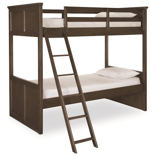 Legacy Classic Kids Kenwood Twin Over Twin Bunk Bed with Ladder