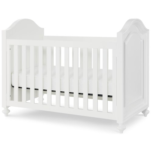 Legacy Classic Kids Madison Stationary Crib with Molded Ends