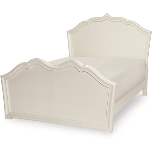 Legacy Classic Kids Tiffany Full Panel Bed with Elegant Moldings