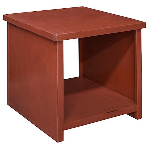 Vendor 1356 Calistoga Collection Calistoga Blue End Table