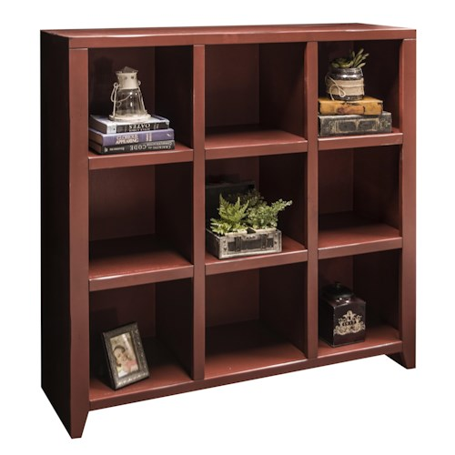 Legends Furniture Calistoga Collection Calistoga 9-Cubicle Bookcase