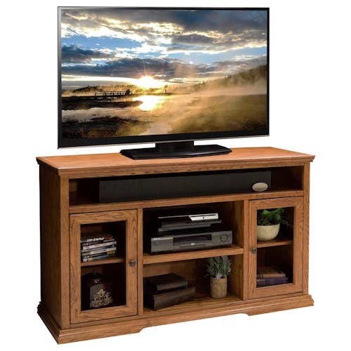 Vendor 1356 Colonial Place Two Door 54-Inch Tall TV Cart