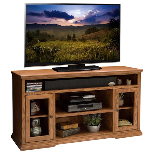 Legends Furniture Colonial Place  Two Door 62-Inch TV Cart