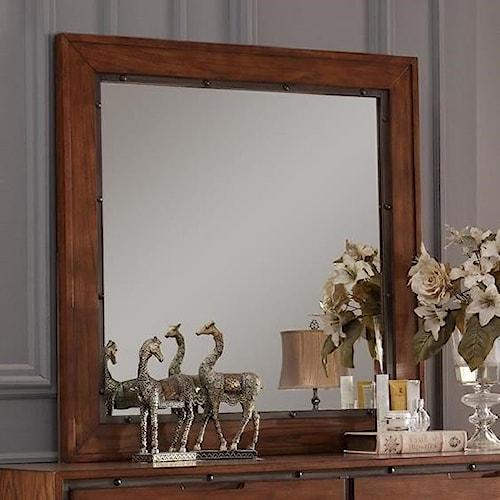 Vendor 1356 Crossgrain Collection Crossgrain Mirror