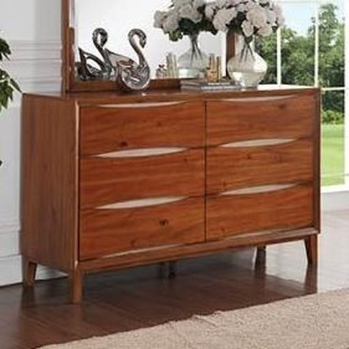 Vendor 1356 Evo Evo Dresser with Dovetail Drawers