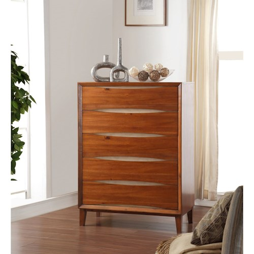 Vendor 1356 Evo Evo Chest with Dovetail Drawers