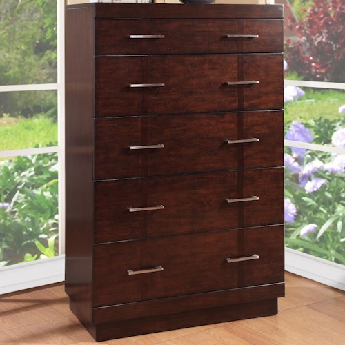 Vendor 1356 Novella Chest with 5 Drawers