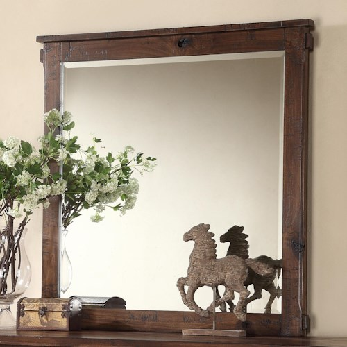Legends Furniture Restoration Rustic Restoration Dresser Mirror
