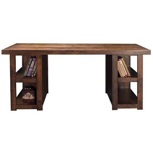 Legends Furniture Sausalito Collection Writing Table with Dado Construction