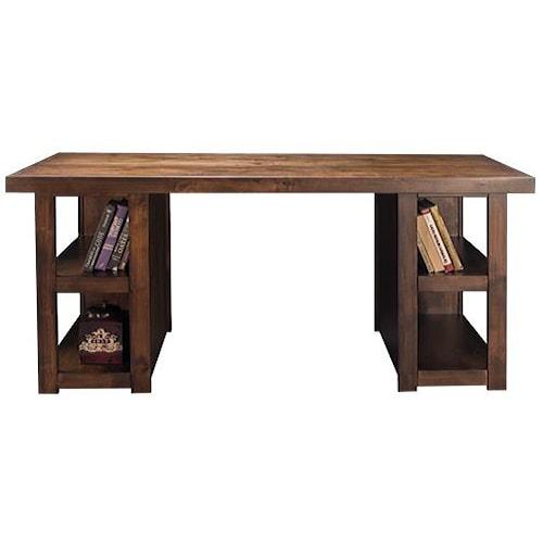 Vendor 1356 Sausalito Collection Writing Table with Dado Construction