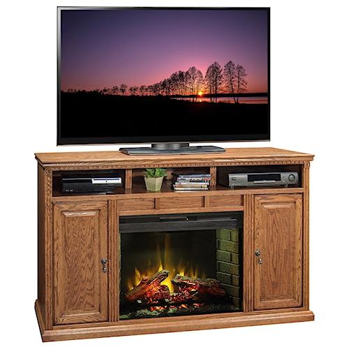 Legends Furniture Scottsdale 62 Inch Fireplace Media Center
